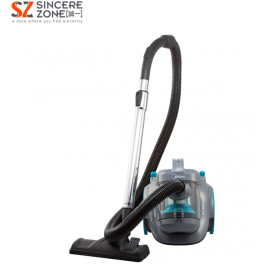 Midea MVC-V12K-GR Bagless Vacuum Cleaner with HEPA Filter